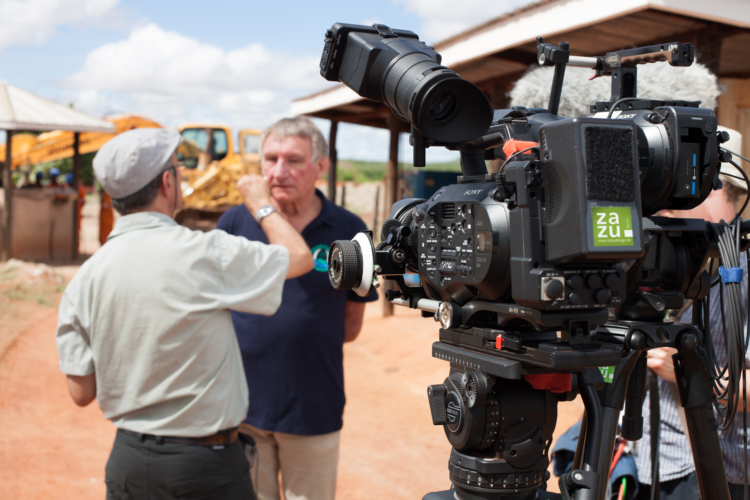 Filming for the CEMEREM in Kenya