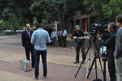 Interview with VC of UwC